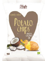 "Kartoffelchips ""gebraten in Kokosöl"""