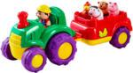 Musik-Traktor und Anhänger