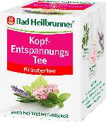 Bad Heilbrunner Kopf-Entspannungs Tee, 8 x 2 g