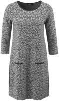 Damen Kleid mit animalischem Allovermuster