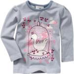 Baby Langarmshirt mit Schwanen-Print