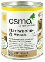 Osmo Hartwachs-Öl Farbig Natural weiß transparent 750ml
