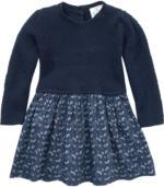 Baby Kleid mit gestricktem Oberteil