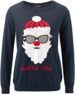 Damen Pullover mit lustigem Weihnachtsmotiv