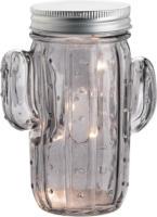 LED-Glas in Kaktusform