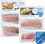 Deutsche See Rotbarsch-Filets 360 g oder Kabeljau-Filet 320 g, gefroren, jede Packung