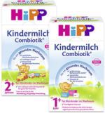 Hipp Bio Combiotik Kindermilch 1+ oder 2+, jede 600-g-Packung