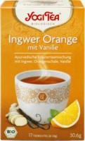 """Ayurvedischer Tee """"Ingwer Orange mit Vanille"""""""