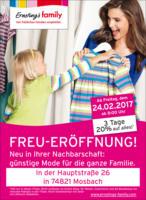 FREU-ERÖFFNUNG in Mosbach