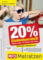 20 % Studentenrabatt!