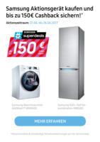 Samsung Aktionsgerät kaufen und bis zu 150 € Cashback sichern!