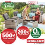 Gartenmöbel bei Segmüller