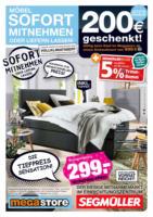 megastore: Der Mitnahmemarkt von Segmüller