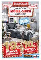 Möbel-Show im megastore!