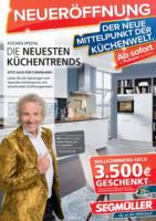 Neueröffnung: Der neue Mittelpunkt der Küchenwelt.