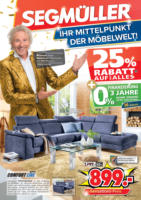 Segmüller: Ihr Mittelpunkt der Möbelwelt.