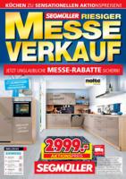 Segmüller: Messe-Verkauf