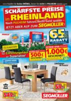 Segmüller: Schärfste Preise im Rheinland!