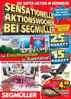 Sensationelle Aktionswochen bei Segmüller!